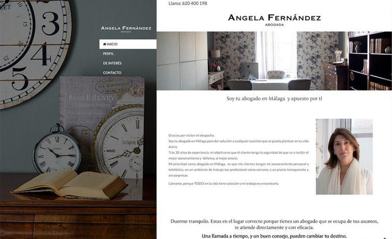 ANGELA FERNÁNDEZ - ABOGADO